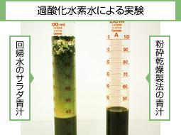 過酸化水素水による実験