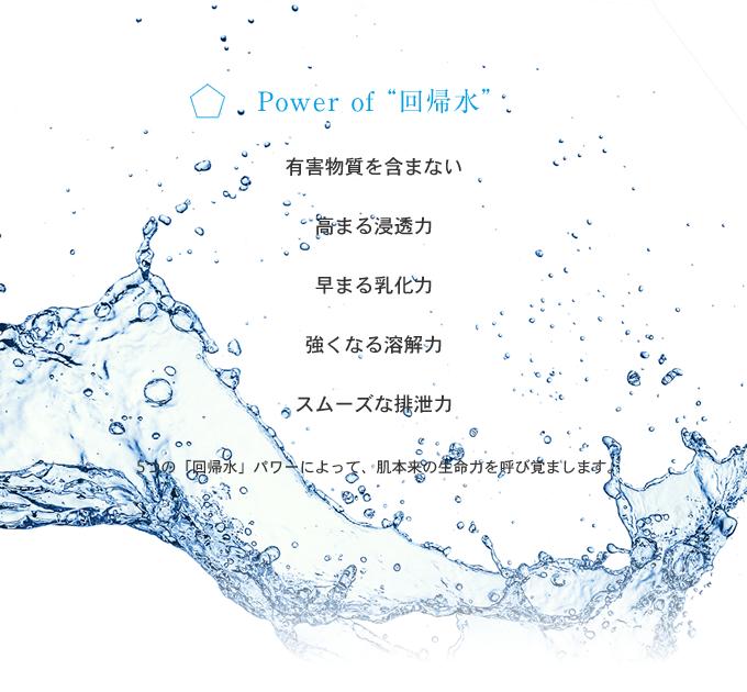 "Power of ""回帰水"""